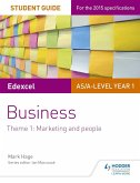 Edexcel AS/A-level Year 1 Business Student Guide: Theme 1: Marketing and people (eBook, ePUB)