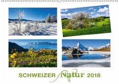 9783665611828 - AG, Calendaria: Schweizer Natur 2018 (Wandkalender 2018 DIN A2 quer) - Libro