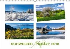 9783665611811 - AG, Calendaria: Schweizer Natur 2018 (Wandkalender 2018 DIN A3 quer) - Libro