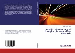 Vehicle trajectory control through a piecewise affine approach