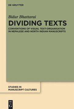 Dividing Texts - Bhattarai, Bidur