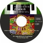 Modern Piano School CD 1 zum Buch