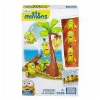Minions Mega Bloks Bausatz Banana Island