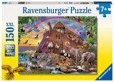 Ravensburger 100385 - Unterwegs mit der Arche, 150 XXL-Teile, Kinderpuzzle