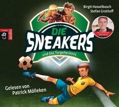 Die Sneakers und das Torgeheimnis / Die Sneakers Bd.1 (2 Audio-CDs) (Mängelexemplar)