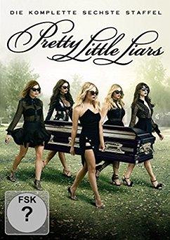 Pretty Little Liars - Die komplette 6. Staffel (5 Discs) - Troian Bellisario,Ashley Benson,Tyler Blackburn