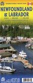 International Travel Map ITM Newfoundland & Labrador