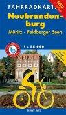Fahrradkarte Neubrandenburg, Müritz, Feldberger Seenwasser- und reißfest