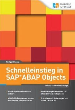 Schnelleinstieg in SAP® ABAP Objects