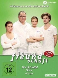 In aller Freundschaft - Staffel 18 Teil 2 DVD-Box - Rühmann,Thomas/Bellmann,Dieter