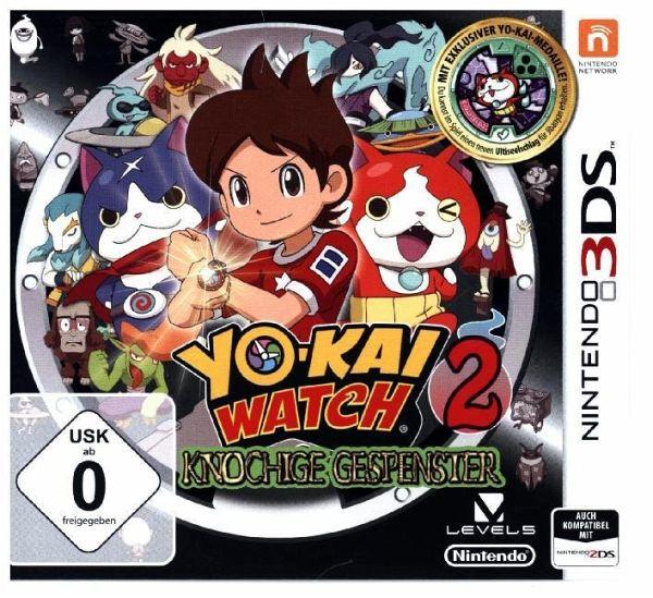 Yo kai watch 2 knochige gespenster inkl medaille for Sale de bain yo kai watch 2