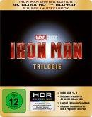 Iron Man Trilogie - Limited Edition 4K Ultra HD + Blu-ray (6 Discs im Steelbook)