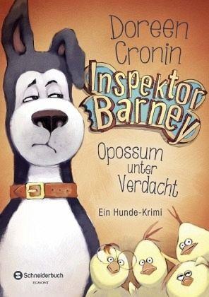 Buch-Reihe Inspektor Barney
