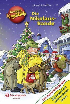 Kommissar Kugelblitz - Die Nikolaus-Bande (Mängelexemplar) - Scheffler, Ursel