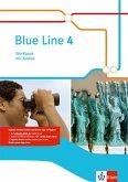 Blue Line 4. Workbook mit Audio-CD. Klasse 8. Ausgabe 2014