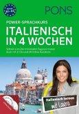 PONS Power-Sprachkurs Italienisch in 4 Wochen. Buch mit 2 CDs und 24 Online-Kurztests