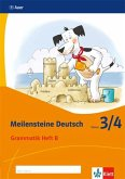 Meilensteine. Deutsch Grammatik Heft B. Klasse 3/4. Ausgabe ab 2017