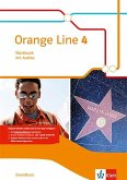 Orange Line 4. Workbook mit Audio-CD. Grundkurs Klasse 8. Ausgabe 2014