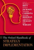 The Oxford Handbook of Strategy Implementation (eBook, ePUB)