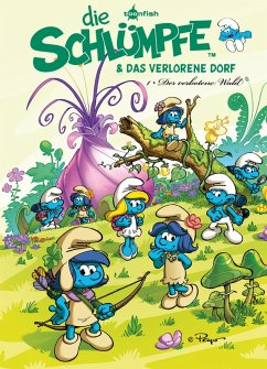 Die Schlümpfe und das verlorene Dorf Bd. 1: Der verbotene Wald (eBook, PDF) - Peyo; Jost, Alain; Parthoens, Luc