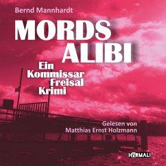 Mordsalibi (MP3-Download) - Mannhardt, Bernd
