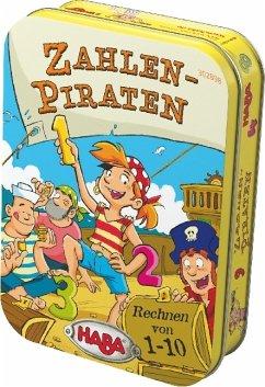 HABA 302898 - Zahlen-Piraten, Rechnen von 1-10, Reisespiel