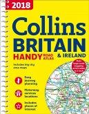 2018 Collins Britain & Ireland Handy Road Atlas