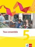 Tous ensemble. Schülerbuch fester Einband. 5. Lernjahr