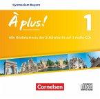 6. Jahrgangsstufe, 3 Audio-CDs / À plus! Nouvelle édition, Ausgabe Bayern Bd.1