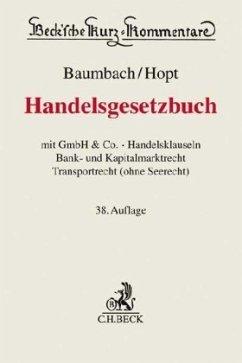 Handelsgesetzbuch - Baumbach, Adolf; Hopt, Klaus J.