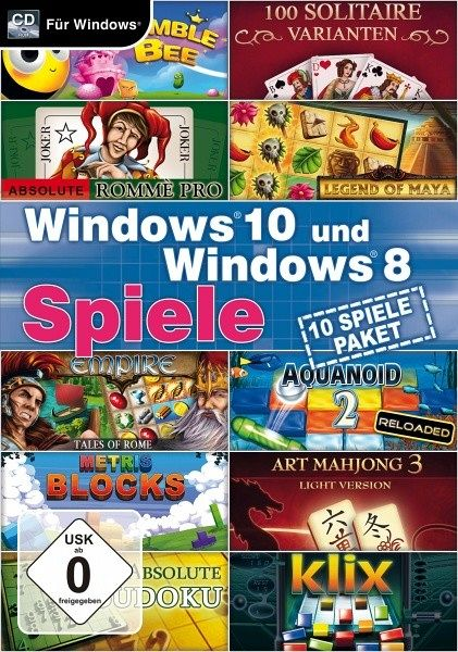 spiele in windows 8