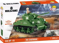 COBI 3007A M4 Sherman, World of Tanks, Bausatz 500 Teile