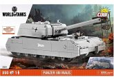 COBI World of Tanks 3024 - Panzer VIII Maus, Deutscher Panzer, Konstruktionsspielzeug, Bausatz, 890 Teile