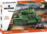 COBI 3005A T34/85, World of Tanks, Konstruktionsspielzeug, 500 Teile