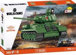 COBI-3005A World of Tanks Bausatz T34/85 (425 Teile)
