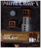 Minecraft Series 3 - Sammelfigur - Schneegolem, Snow Golem mit Zubehör