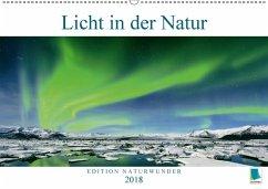 9783665731359 - CALVENDO: Edition Naturwunder: Licht in der Natur (Wandkalender 2018 DIN A2 quer) - كتاب