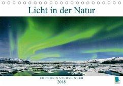 9783665731366 - CALVENDO: Edition Naturwunder: Licht in der Natur (Tischkalender 2018 DIN A5 quer) - Libro