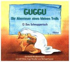 Guggu - Die Abenteuer eines kleinen Trolls - Das Schnuppertuch, 1 Audio-CD