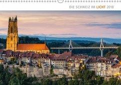 9783665731663 - AG, Calendaria: Die Schweiz im Licht 2018 (Wandkalender 2018 DIN A3 quer) - Kniha