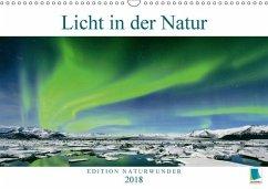 9783665731342 - CALVENDO: Edition Naturwunder: Licht in der Natur (Wandkalender 2018 DIN A3 quer) - Book