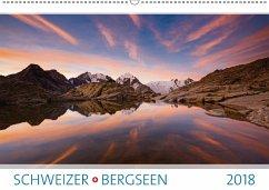 9783665731632 - AG, Calendaria: Schweizer Bergseen 2018 (Wandkalender 2018 DIN A2 quer) - Kitabu