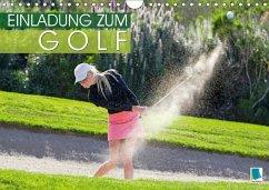 9783665731090 - CALVENDO: Einladung zum Golf (Wandkalender 2018 DIN A4 quer) - Book