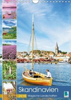 9783665731410 - CALVENDO: Skandinavien: Magische Landschaften (Wandkalender 2018 DIN A4 hoch) - Livro