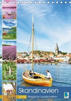 9783665731441 - CALVENDO: Skandinavien: Magische Landschaften (Tischkalender 2018 DIN A5 hoch) - Book