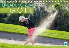 9783665731120 - CALVENDO: Einladung zum Golf (Tischkalender 2018 DIN A5 quer) - Book