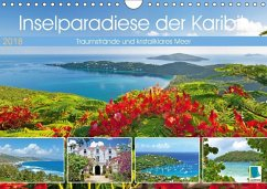 9783665731496 - CALVENDO: Inselparadiese der Karibik (Wandkalender 2018 DIN A4 quer) - Книга