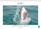 Hai: Raubtier der Meere (Wandkalender 2018 DIN A4 quer) Dieser erfolgreiche Kalender wurde dieses Jahr mit gleichen Bildern und aktualisiertem Kalendarium wiederveröffentlicht.
