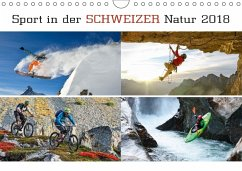 9783665731533 - AG, Calendaria: Sport in der Schweizer Natur 2018 (Wandkalender 2018 DIN A4 quer) - Kitap
