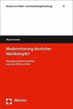 Modernisierung deutscher Wahlkämpfe? - Krewel, Mona